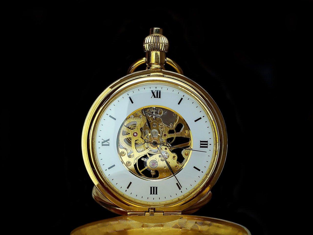 mettre en valeur une montre vintage
